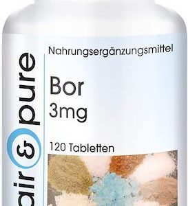 Bor Tabletten Boron