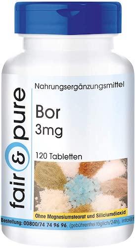 Bor Tabletten Boron