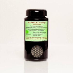 Spirulina Tabletten Presslinge Rohkostqualität